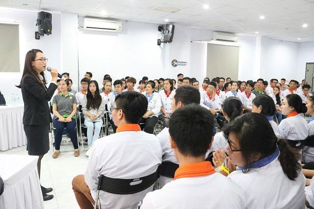 chuong trinh career talk