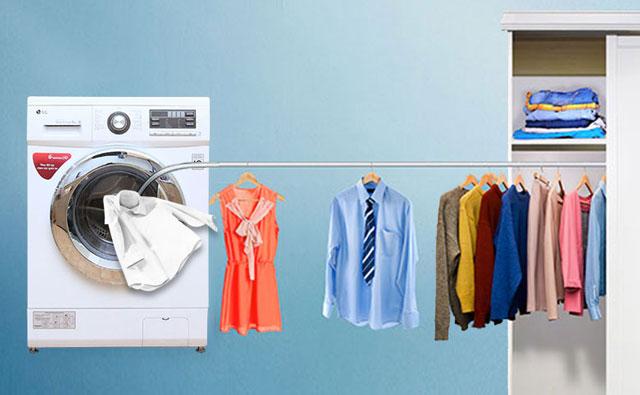 Giặt khô giúp giữ được form quần áo