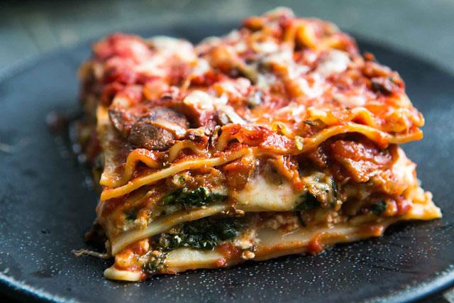 hương vị Lasagna