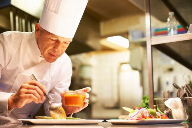 bếp trưởng cần có đam mê