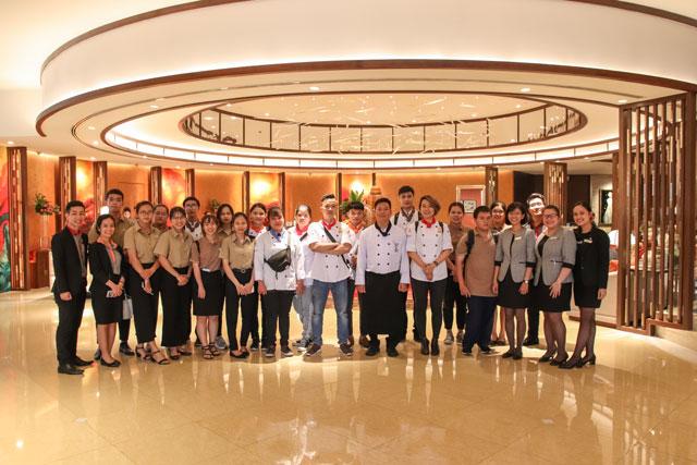 giao lưu cùng chuyên gia trong ngành tại Sheraton Saigon