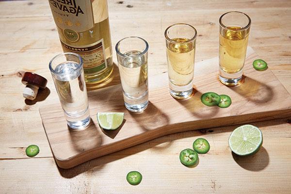 thưởng thức tequila