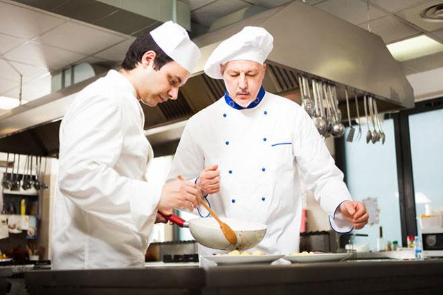 vị trí bếp trưởng